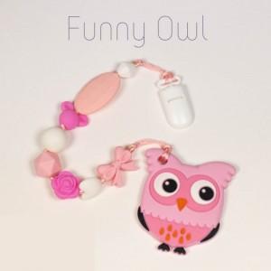 Гризун з харчового силікону Funny Owl