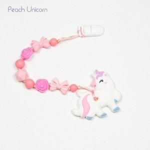Гризун з харчового силікону Peach Unicorn