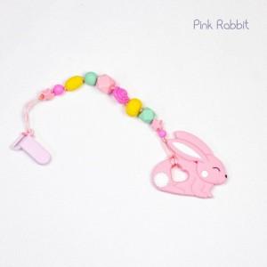 Гризун з харчового силікону Pink Rabbit