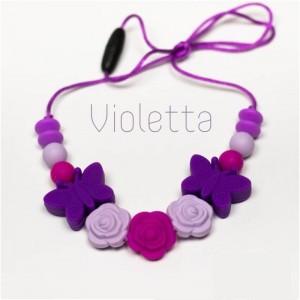 Силіконові слінгобуси Violetta Baby milk teeth
