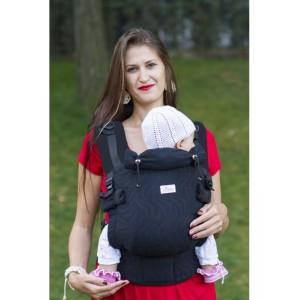 Ерго-рюкзак Adapted Black (2 міс +)