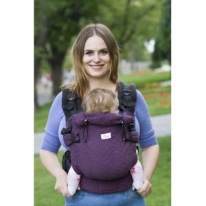 Ерго-рюкзак Adapted Purple (2 міс +)