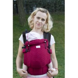 Ерго-рюкзак Adapted Raspberry (2 міс +)