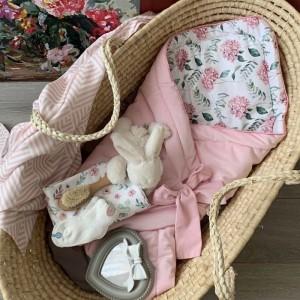 Конверт вельветовий для новонародженого