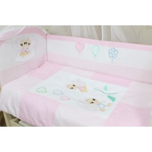"""Набір білизни в дитяче ліжко """"Бусинка"""" 3 предмети"""