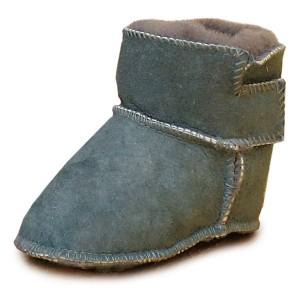 Зимові черевички на овчині Grey HOPPEDIZ