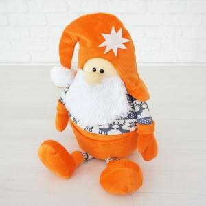 М'яка іграшка Kidsqo гномик Санта (в кольорах)