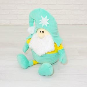 М'яка іграшка гномик Санта