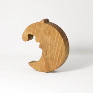 """Дерев'яна фігурка """"Півмісяць"""""""