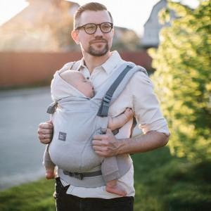 Ерго-рюкзак ONE+ Organic Туман