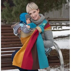 Слінг з кільцями Rainbow Wool Luna Dream