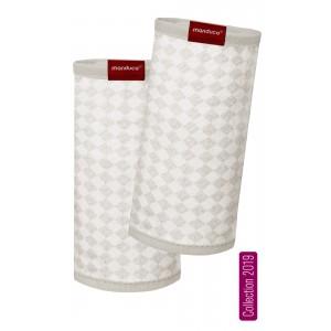 Накладки на лямки manduca® FumBee SoftCheck Sand-Ecru