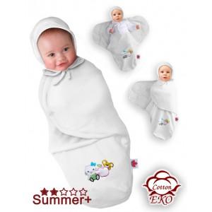 Пеленка кокон Deep Sleep 3 Summer+ на липучці