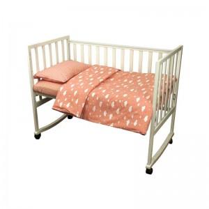 """Комплект білизни в дитяче ліжко """"Хмарка"""" (3 предмети)"""