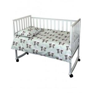 """Комплект білизни в дитяче ліжко """"Щаслива родина"""""""