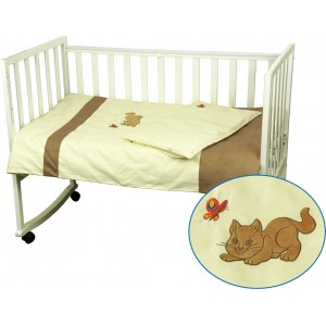 "Комплект білизни в дитяче ліжко ""Рижик"" (3 предмети)"