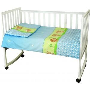 "Комплект білизни в дитяче ліжко ""Їжачок"" (3 предмети)"