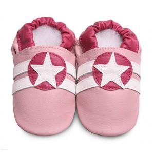 Дитячі кеди з натуральної шкіри Pink Sport / Star