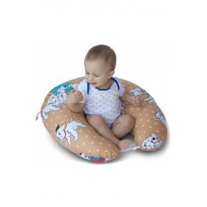 """Подушка для годування великого розміру """"Далматинці"""""""