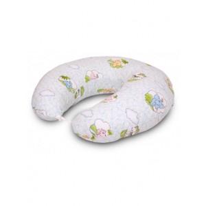 """Подушка для годування великого розміру """"Зоопарк"""""""