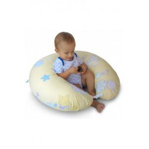 """Подушка для годування великого розміру """"Звіздарі зелені"""""""