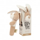 Органічне брязкальце Зайчик Bunny