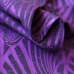 Слінг-шарф Yaro Slings Dandy Purple Black Tencel Confetti