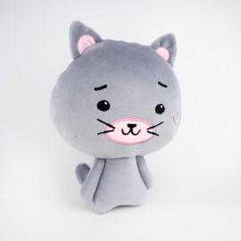 М'яка іграшка кошеня Пінкі..