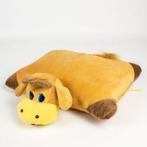 Декоративна подушка трансформер Бичок