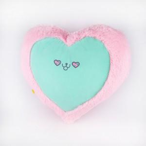 Декоративна подушка Сердечко кіт