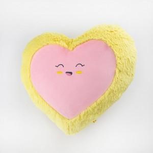 Декоративна подушка Сердечко посміхається