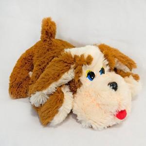 М'яка іграшка Собака Пуфік травичка середня