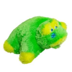 М'яка іграшка подушка трансформер Жабка (травка)
