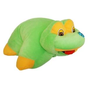 М'яка іграшка подушка трансформер Жабка